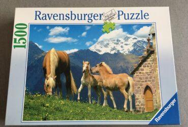"Puzzle ""Süsse Haflinger"""