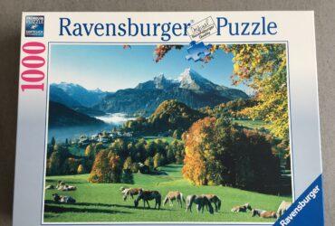 """Puzzle """"Pferde auf Weide"""""""